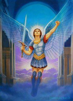 Archangel Michael by Hiroyuki Satoh