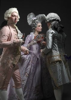 18th Century - this group does INCREDIBLE reproduction work Les Papillions