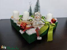 Hóemberes adventi box négy gyertyával (tamasszabina0708) - Meska.hu Advent Candles, Xmas Decorations, Gift Wrapping, Christmas Ornaments, Holiday Decor, Gifts, Diy, Home Decor, Gift Wrapping Paper