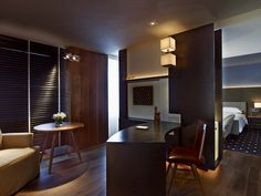 5 Star Finish! American walnut floors complete the Ambassador & Presidential suites at the Park Hyatt in Washington D.C. Gorgeous!