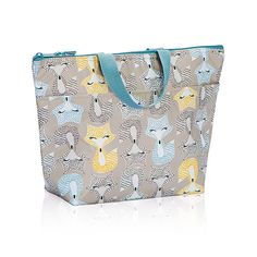 What did the Fox Say? Grab your new Thermal Tote in the fun Fox Trot Pattern.