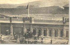 Hampden Park Stadium Glasgow, Escocia,1910.