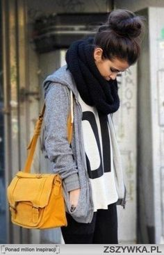 Modest.... but lovely style for the autumn :)
