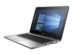 """HP Elitebook 745 G3 14"""" Notebook, 8 GB RAM, 256 GB SSD, AMD Radeon R7, Silver (T3L35UT#ABA). Power through your day with Windows 10 Pro and the powerful, sleek, thin, and light touch optional HP Elite Book 745. HP Sure Start detects attacks, corruption and self-heals the BIOS automatically. Keep focused without the distraction of a noisy keyboard using the HP Premium Keyboard engineered for comfort. Stand up to the workload with an Elite Book designed to undergo MIL-SPEC 810G testing…"""