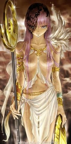 La diosa Atenea.