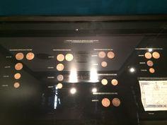 Moedas de cobre - Museu de Valores BCB