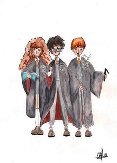 Harry Potter de Ateliartt en Etsy
