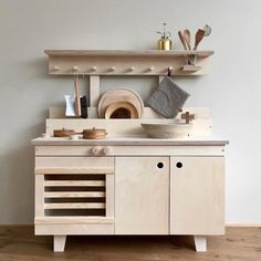 Play Kitchen by Woodchuck.