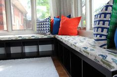 Keep it Beautiful: Window Bench - DIY