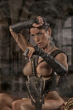 """brujagood: """" fetish warrior (by BrunoConti): - http://bit.ly/1evPTLd """""""