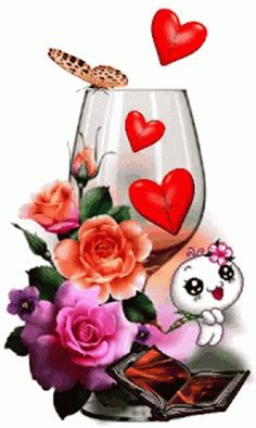 The perfect CopaDeCorazones Glass Wine Animated GIF for your conversation. Discover and Share the best GIFs on Tenor. Love Heart Gif, Love Heart Images, I Love You Pictures, Beautiful Nature Pictures, Cute Love Gif, Beautiful Gif, Gif Pictures, Beautiful Roses, Love Wallpapers Romantic
