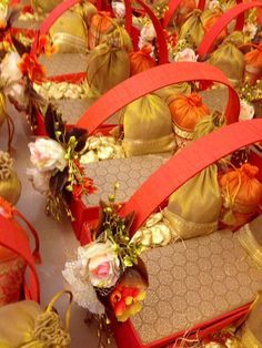 Indian gift tray..decorate tray like a stage | Wedding Ideas ...