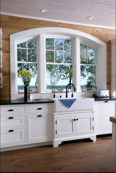 Gorgeous window over the sink