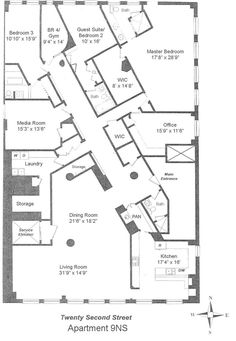 1eed282d43b6cb95f5b5fa45b0038641--flatiron-diagonal Trump Towers Manhattan Penthouses Floor Plan on trump tower chicago elevators, trump tower chicago rooms, trump tower chicago floor plans,
