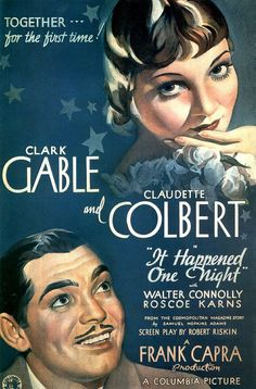 One of the greatest screwball comdies ever with Colbert as a runaway heiress and Gable as a reporter looking to cash in on her story.