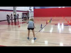 Cone flipping relay - YouTube Pe Activities, Team Building Activities, Fitness Activities, Physical Activities, Elementary Physical Education, Elementary Pe, Relay Games, Gym Games, Church Games