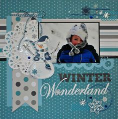 Winter Wonderland~Echo Park - Scrapbook.com