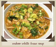 Wahoo White Bean Soup (Tastefully Simple Recipe)   Wahoo! Chili® Seasoning Blend  Shop here - www.tastefullysimple.com/web/hmccullah  Find me on fb - https://www.facebook.com/simplewaystolivetastefully  #tastefullysimple #tsrecipe