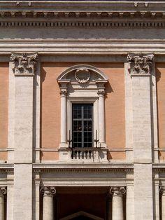 Window of Palazzo Nuovo