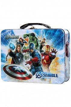 The Avengers - plåtask
