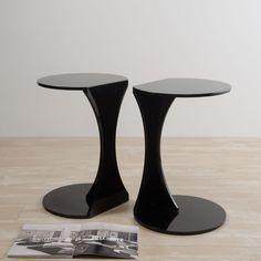 Silhouette Table, Black | ACHICA