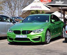 JAVA M4 spotted in Centurion by @bg.automotive.photography  #ExoticSpotSA #Zero2Turbo #SouthAfrica #BMW #M4 #JavaGreen