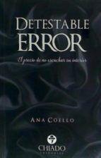 detestable error-9789895165414
