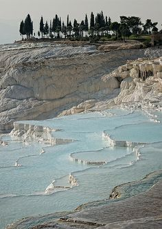 Turquoise, Pamukkale, Turkey