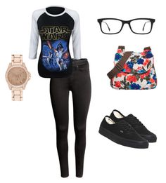 """""""Untitled #64"""" by eleanar14 ❤ liked on Polyvore featuring H&M, Vans, Animal, River Island and Ray-Ban"""