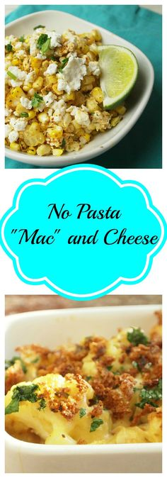 "Healthier No Pasta ""Mac"" and Cheese Recipes the best comfort food - dinner casserole"