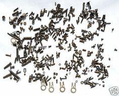 Fasteners from A 1926 Woodstock Typewriter Parts Screws Nuts Steampunk Gear Key | eBay