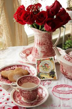 Aiken House & Gardens: Red & White Valentine's Day Tea