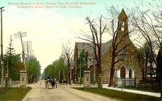 Avenue Road and Bloor Street, postcard, 1909 Great Pictures, Old Pictures, Old Postcards, Best Cities, Ontario, Toronto, Nostalgia, Places To Visit, Old Things