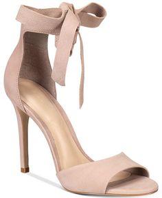 74e79c7ec30 ALDO Belidda Two-Piece Bow Sandals Nude Sandals
