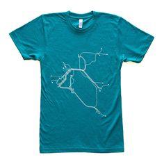 Fab.com   San Fran T-Shirt Teal