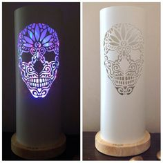 Your place to buy and sell all things handmade Rum Beer, Pvc Pipe Crafts, Stain On Pine, Mood Lamps, Halloween Village, Led, Etsy Uk, Light Shades, Sugar Skull