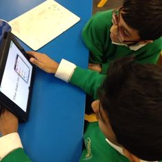 Beaumont Primary School Y6 students creating #grammar #games on TinyTap!