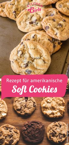 Amerikanische Cookies mit Chocolate Chips und Macadamia cookies and cream cookies christmas cookies easy cookies keto cookies recipes easy Summer Dessert Recipes, Dessert Cake Recipes, Healthy Dessert Recipes, Easy Desserts, Cookie Recipes, Chocolate Chip Recipes, Chocolate Cookies, Chocolate Desserts, Chocolate Chips