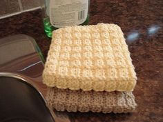 If I am ever to make my own dishrags I will have the pattern