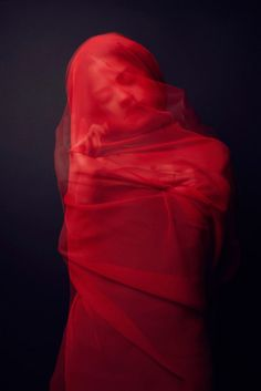 "Beautiful ""Red Virgin"" by Bourdais... these days my veil is only for dancing"
