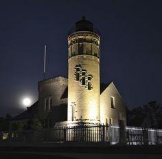 *Old Mackinac Point Lighthouse (Mackinaw City, MI) by Marie Nagle
