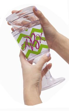 Embroidery Blank Create Your Own Wine Glass Goblet - AllStitch Embroidery Supplies