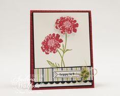 Happy Birthday Stampin' Up! Card by Andrea Walford
