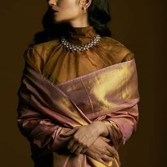 f65c75c9890 How to Rock a Saree Blouse Even If You Have Big Arms • Keep Me Stylish