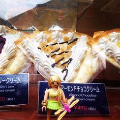 eletokyoから近いクレープ屋みつけた!東京タワーのマリオンクレープや! #playmobil