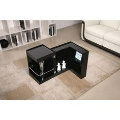 convertible mini bar table