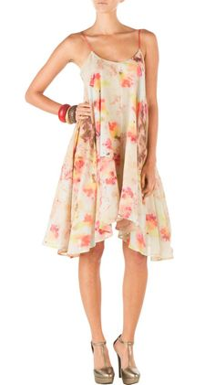 Coquille Beech Print Dress