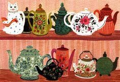 Tea Pot Collection, becca stadtlander