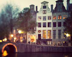 Fine Art Photography Blog of Irene Suchocki: Everything is Illuminated - Amsterdam at Night