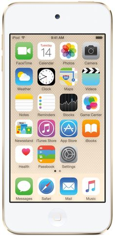 Apple iPod Touch (6th Generation) - 16 GB - Gold